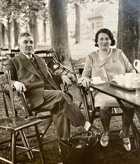Anna en Izaäk Englander-Hamburg in 1927