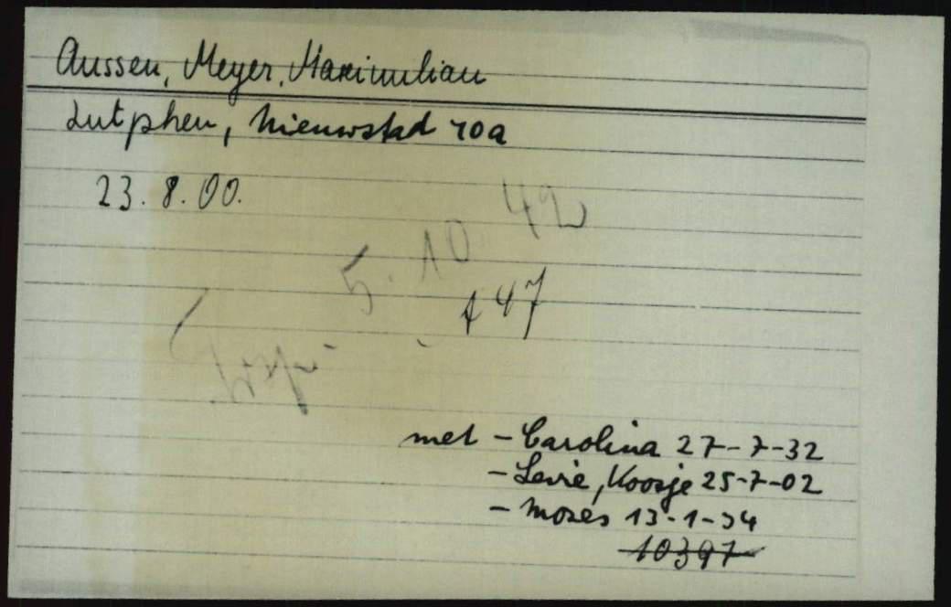 Kaart Joodse Raad