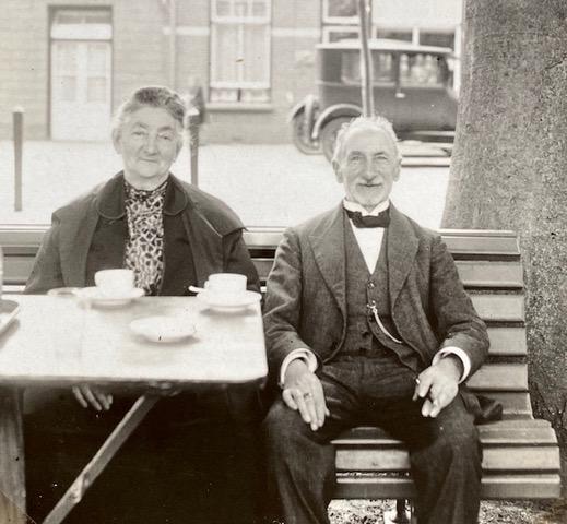 Berendina en Juda Hamburg-de Leeuw in 1927