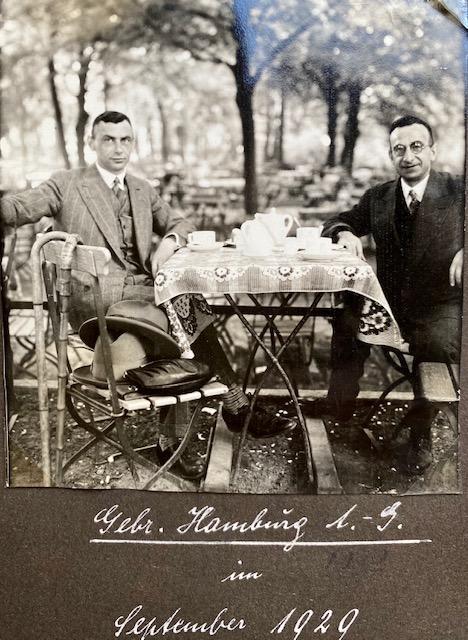 Jacques en Karel Hamburg in 1929